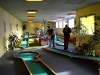 indoor miniature golf course