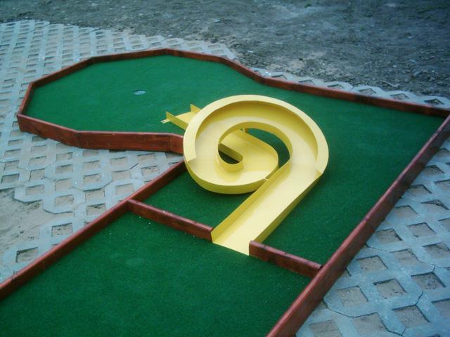 Miniature golf guide |