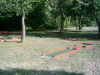 portable minigolf course