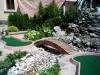 landscaped minigolf