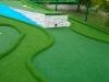 miniature golf on terrace
