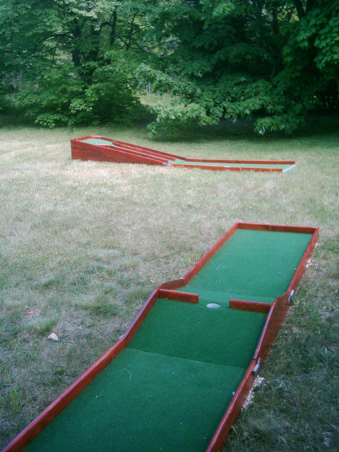 Awe Inspiring Portable Miniature Golf Courses For Indoor And Outdoor Use Download Free Architecture Designs Intelgarnamadebymaigaardcom