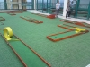 minigolf on terrace
