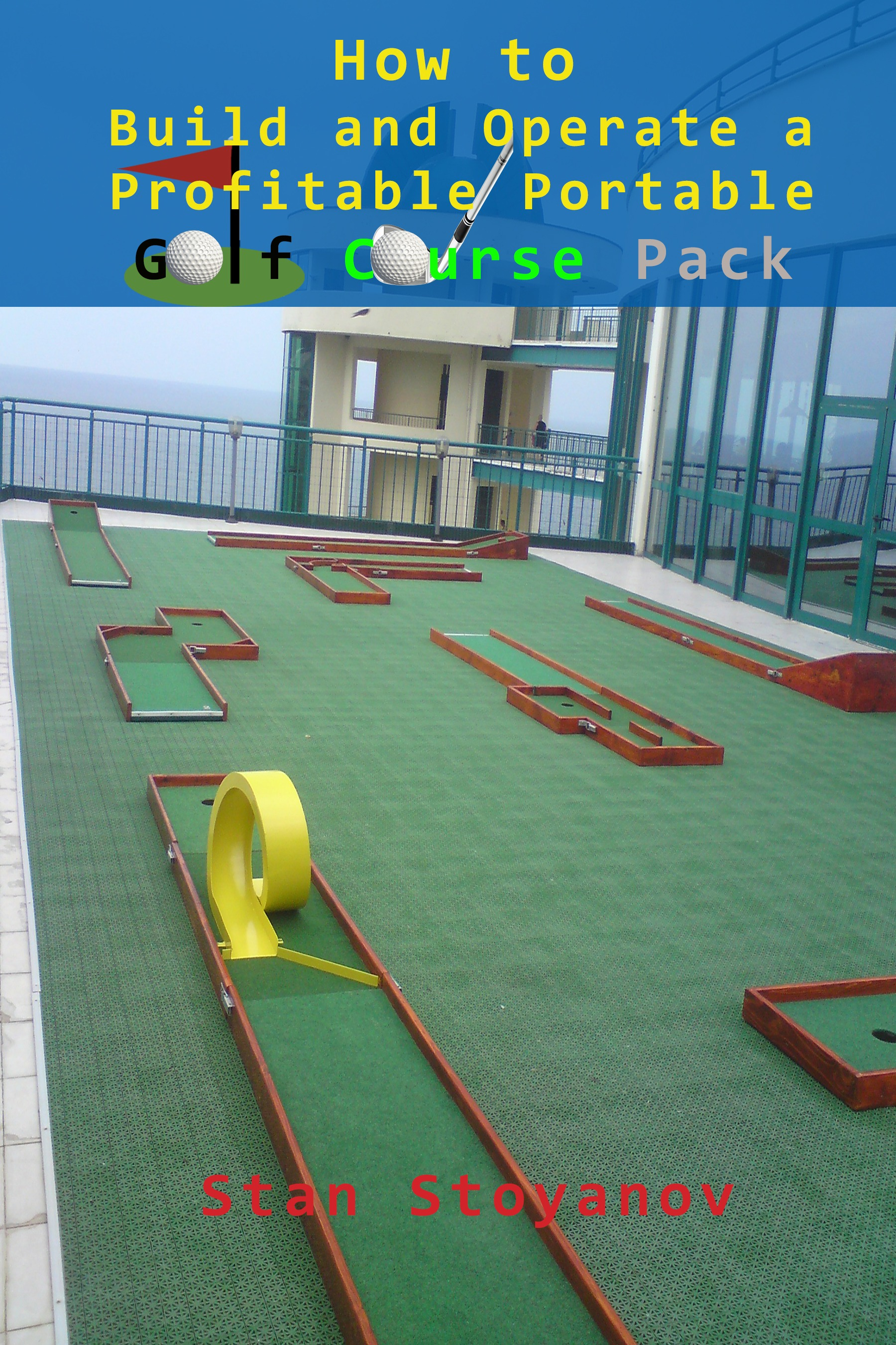 portable miniature golf courses for indoor and outdoor use u201cmini