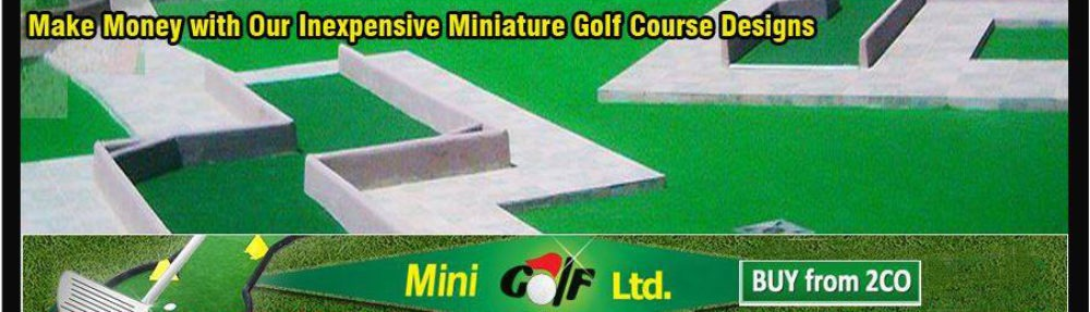 """Mini Golf"" Ltd. – Miniature Golf Plans and Layouts"